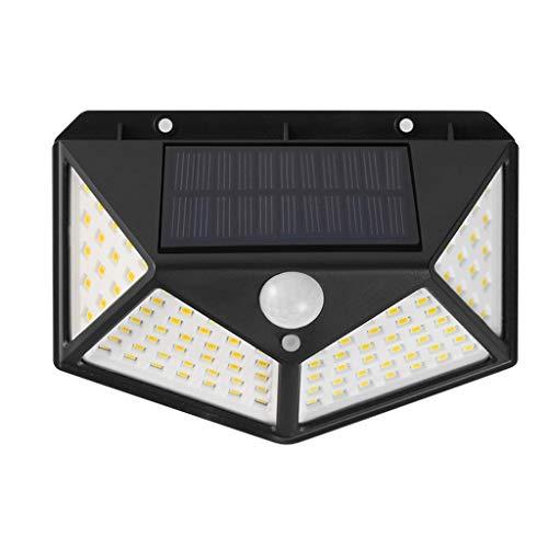 TXTC Wandlampen op zonne-energie, in de buitenlucht, schemerlicht bij schemering, licht, waterdicht, buiten, outdoor, wandlamp voor huis, veranda, terras