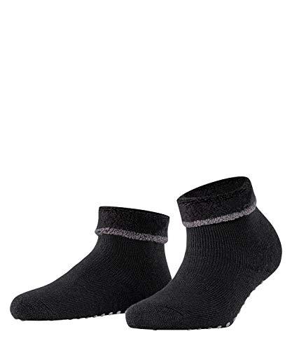 ESPRIT Damen Cosy Homepads 2 W HP Hausschuh-Socken, Schwarz (Black 3001), 35-38 (UK 2.5-5 Ι US 5-7.5) (2er Pack)