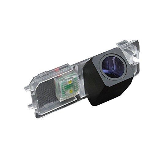 kalakus Super Star Light Pro HD voiture caméra de recul aide au stationnement améliorée avec 8IR Vision nocturne 170 degrés grand angle étanche borkhoche Defination (Noir) pour Polo Golf6
