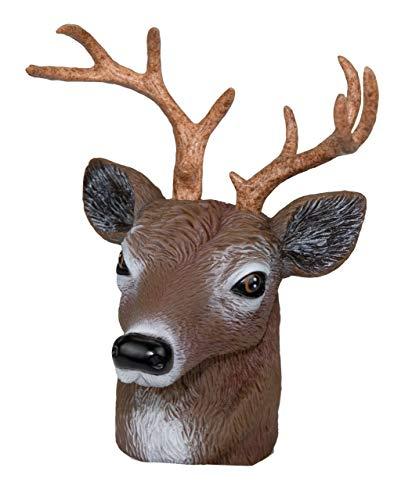 Kappe Anhängerkupplung,Origineller und dekorativer Schutz für ihre Anhängerkupplung.Für Jäger und Naturbegeisterte. (Hirsch)
