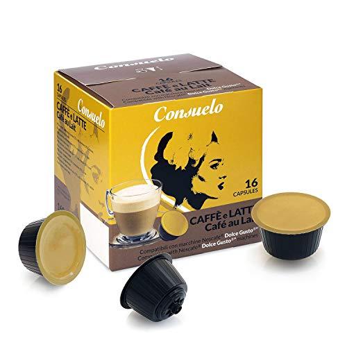 Consuelo - Cápsulas compatibles con cafetera Dolce Gusto*:...