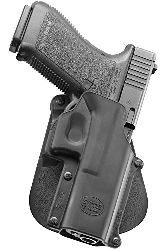 Fobus GL3 Standard Holster for Glock 20, 21, 21SF (with std Glock rail), 37, 38, 40, 41 / ISSC M22, Right Hand Paddle