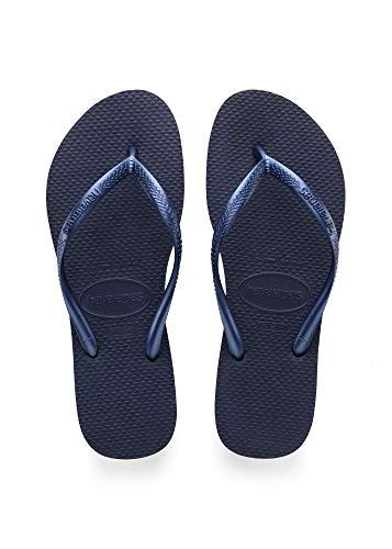 Havaianas Damen Slim Zehentrenner, Blau (Navy Blue 0555), 33/34 EU