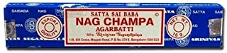 Incienso Nag Champa, 15g,Satya, Lote de 12recipientes