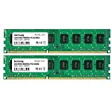 Samsung 4GB Dual-Channel KIT (2X 2GB) DDR2 800Mhz PC2-6400 240pin Desktop Arbeitsspeicher RAM Memory 3rd DIMM