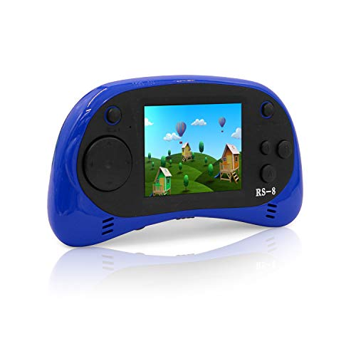 """Hades USB Charging Handheld Game Console,Children's Retro TV Video Games Player Arcade Gaming System,Built-in 260 Old School Games, 2.5"""" LCD Screen Birthday Gift for Kids"""