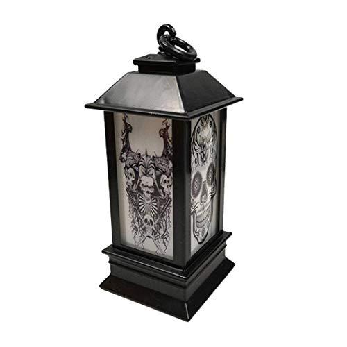 Halloween LED-lamp verlicht decoratie, creatieve nachtlampjes, nachtlampjes, sluimerlampen, 4 stuks