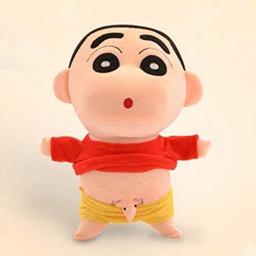 dingtian Juguete de Peluche 35cm Naughty Crayon Shin Chan Figura De Peluche Muñeca De Juguete para Niños