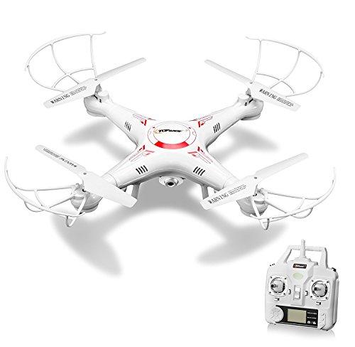 Top RacePocket Drone Quad Copter 2.4 GHz Con Mini Head Drone TR-MQ7