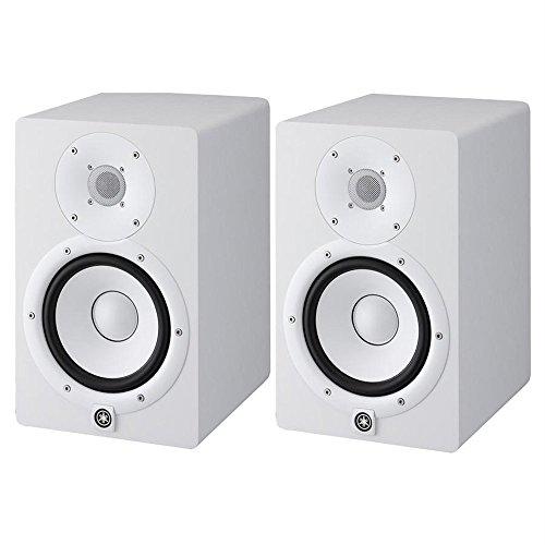 Yamaha HS Serie – Monitor de altavoz activo profesional de estudio de dos vías, blanco y negro, individual o doble (HS8-W- copia)