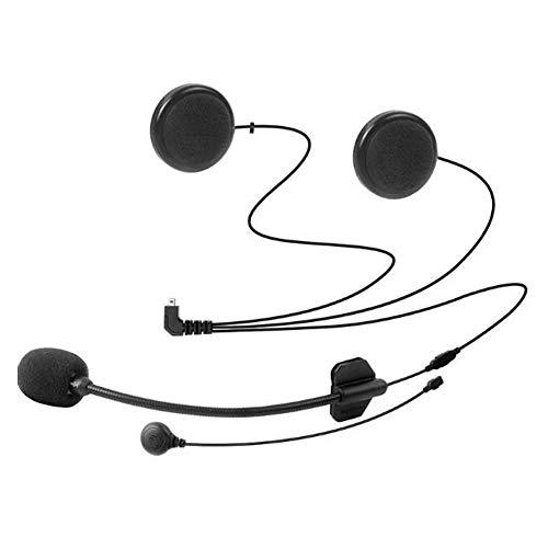 FreedConn Micrófono Auricular Cable Suave Auricular Accesorio para Casco de Moto Interfono Bluetooth intercomunicador para TCOM FDCVB y Colo