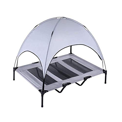 Opvouwbare Washable Pet Tent, Four Seasons Universal-Makkelijk te wassen en Wash, Geschikte Large/Large Outdoor hondenmand | Portable for Camping Or Beach (Size : 76X60X16CM)