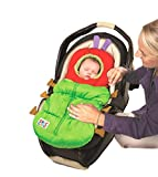 Eric Carle Infant Car Seat Cover, Car Seat Bunting Car Seat Footmuff, Infant Carrier Sleep...