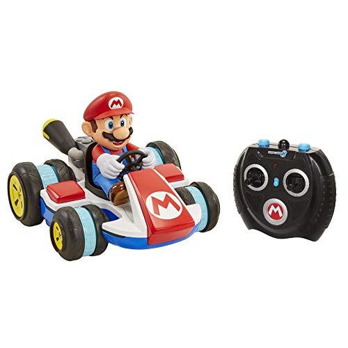 Glop Games- Nintendo Mini Mario Kart Control Remoto, (Jakks Pacific 2.0)