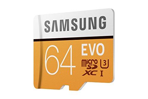 Samsung mb-mp32ga/AM 32GB MicroSDHC EVO Tarjeta de Memoria con Adaptador 64 GB