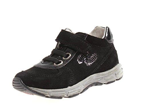 Naturino Kindersneaker Sneaker Schuhe Klettschuhe Sally schwarz Pailetten