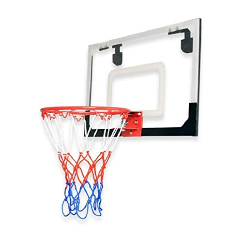 ZAIHW Ajustable Mini aro de Baloncesto, Baloncesto Colgante casero Cubierta Estante Libre del Tablero Trasero