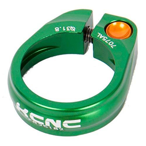 KCNC Abrazadera SILLIN 31,8MM Verde SC-9