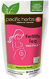 Pacific Herbs Natural Fertility Tea Herb Extract