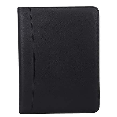 Maletín, Bolsa de Documentos, multifunción para Oficina en casa(Black-no Calculator-no Note Paper-no Power Bank)