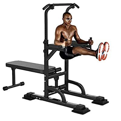 Amazon - Save 75%: Aimik US Fast Shipment Stable Workout Pull Up Dip Station,Multifunctional Dip…