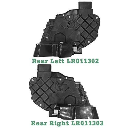 ETOOW 2PCS Auto Rear Right & Left Auto Türverriegelungsaktuator OEM LR011302 LR011303