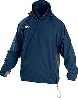 RAWLINGS Sporting Goods Mens Adult Jacket W Removable Sleeves & Hood