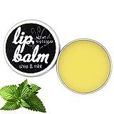 Lip Balm'Shea & Mint' - Lippenpflege | Lippenbalsam, vegan, mit ätherischem Minzöl