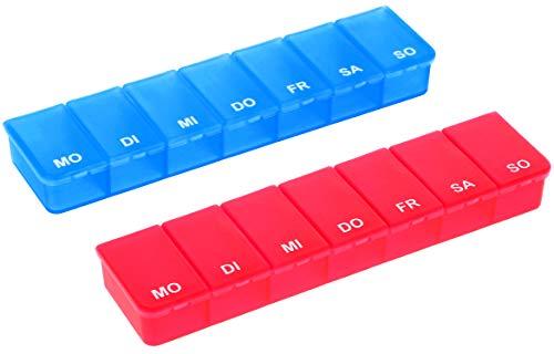 com-four com-four® 2X - Medikamenten-Box für Bild