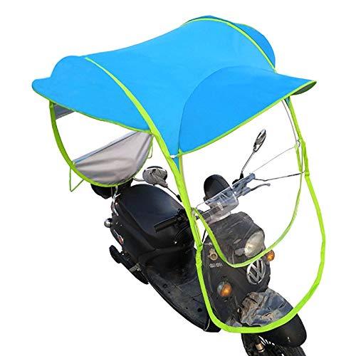 Mobilitätsroller Sonne & Regen Schutz Universal aus Blauem Polyesterschirm