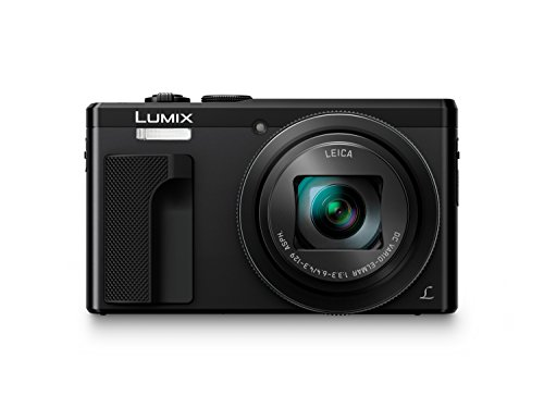 Panasonic Lumix DC-TZ80 - Cámara Compacta de 18,1 MP (Super Zoom, Objetivo F3.3-F6.4 de 24-720mm, Estabilizador Híbrido, Zoom de 30X, 4K, WiFi, Raw), Color Negro