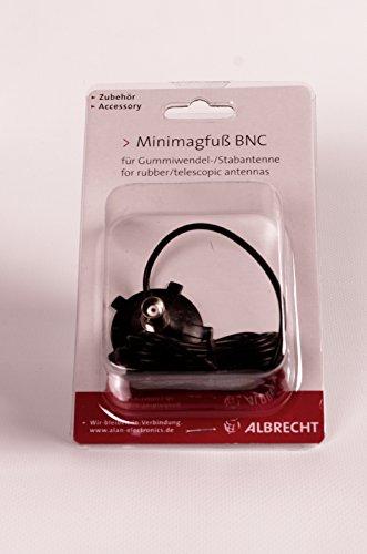 Albrecht 6677 Mini-Magnetfuß mit BNC-Anschluss