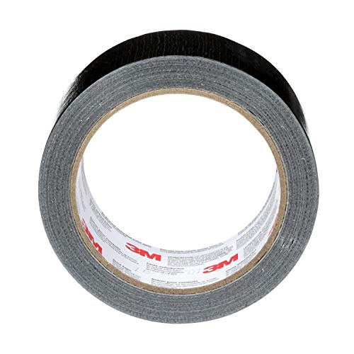 3M Duct Tape Black, 1.88 inches by 20 yards, 3920-BK, 1 roll