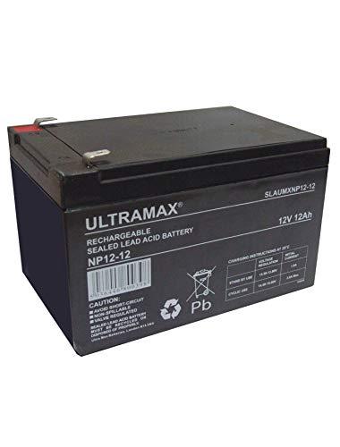 Ultra MAX bateria au Plomb 12 Volts 12Ah SLA NP12-12 VRLA