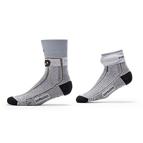 Sensoria Fitness Socks and Anklet, Large Grey