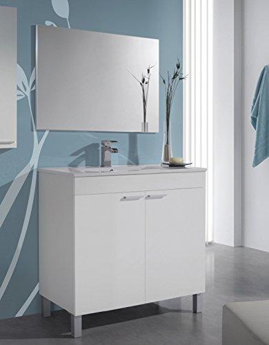 Muebles De Baño Blanco Brillo Marca Abitti