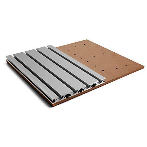 Genmitsu 3018 accesorios 3018 mesa de actualización 3040 juego de extensión de mesa de trabajo de aluminio para fresadora/grabadora CNC 3018-PROVer/3018-PROVer Mach3/3018-MX3