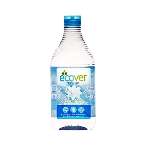 Ecover Washing Up Liquid Camomile & Clementine 450 Millilitres (Pack of 6)