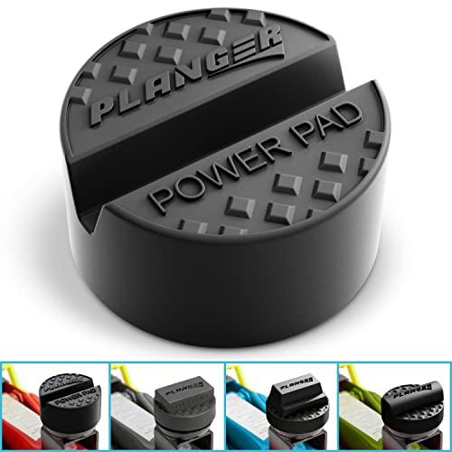 PLANGER® - Power PAD flach - Wagenheber Gummiauflage für Rangierwagenheber-Universal Gummiauflage Wagenheber-Schützt Ihren PKW und SUV robustem Gummi