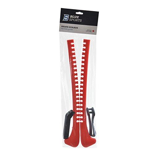 Blue Sports Unisex Erwachsene Kufenschoner, rot, Einheitsgröße