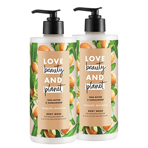 Love, Beauty, And Planet Majestic Moisture Organic Wash