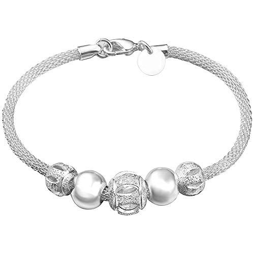 Hosaire Bracelet Femmes Perles sculpté Fleur de Bracelet...