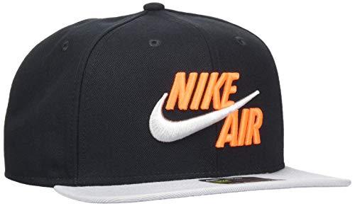 Nike U NSW Pro Cap Air Classic Cap, Unisex Erwachsene, Black/Wolf Grey, One Size