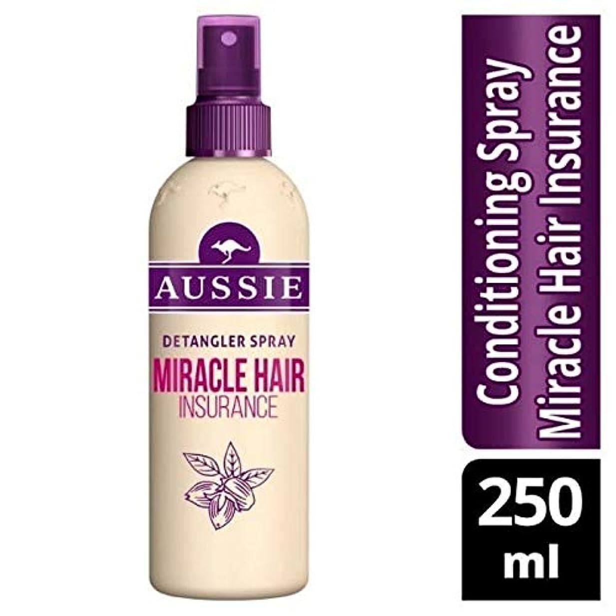 会員取り扱い東[Aussie ] オーストラリアの奇跡髪保険Detanglerスプレー250ミリリットル - Aussie Miracle Hair Insurance Detangler Spray 250ml [並行輸入品]