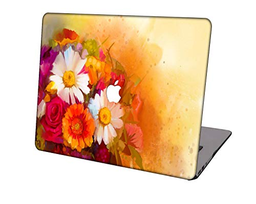 Laptop Case for MacBook Pro 16 Case Model A2141,Neo-wows Plastic Ultra Slim Light Hard Shell Cover Compatible MacBook Pro 16 inch with Touch Bar/Touch ID,Flowers 215