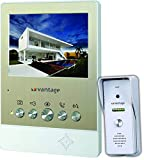 High resolution 900 TVL camera Function to talk-back, monitor, indoor calling, call transfer and door unlock Intercom between all monitors Supports up to 4 indoor monitors and up to 2 outdoor bell units White LEDs for night vision Hands-free indoor m...