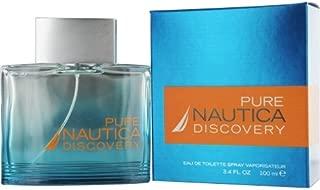 Nautica Pure Discovery Edt Spray 3.4 Oz By Nautica SKU-PAS963800