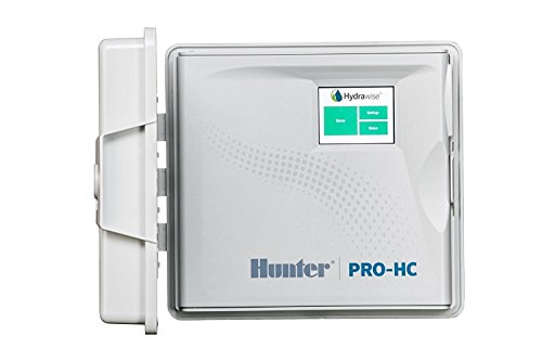 SPW Hunter PRO-HC PHC-600i 6 Zone Indoor Residential/Professional Grade Wi-Fi Controller With Hydrawise Web-based Software - 6 Station Timer - Internet Android iPhone App