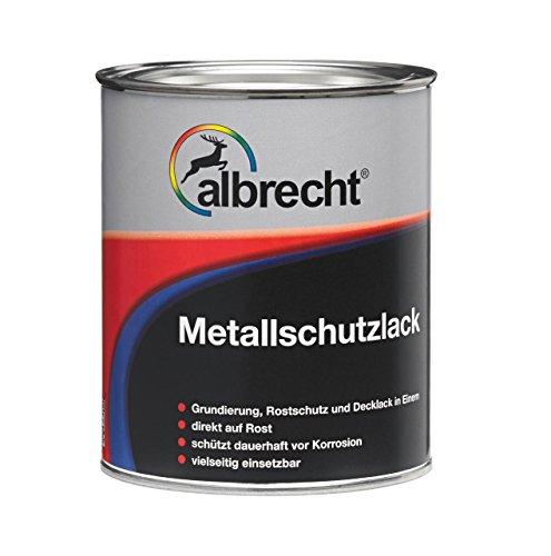 Lackfabrik J. Albrecht GmbH & Co. KG 3400606748000200750 Metallschutzlack 0003 schwarz matt 750ml