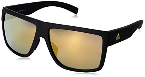 adidas Eyewear 3Matic Black Matt Gold Mirror/CAT3